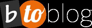 Logo b-to-blog by b-flower